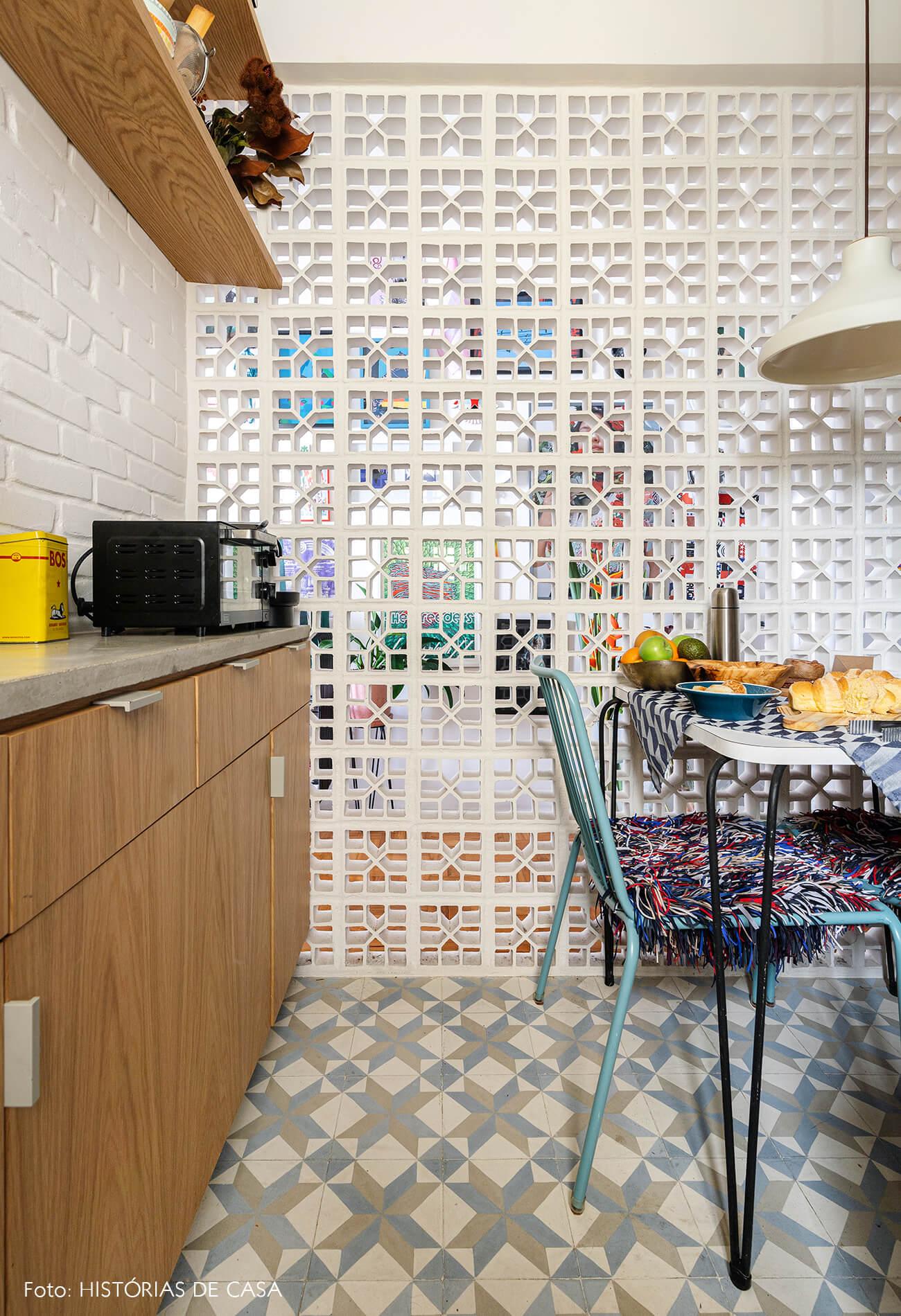 decoração cozinha parede cobogó amarios marcenaria