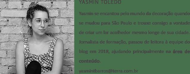Jornalista Yasmin Toledo