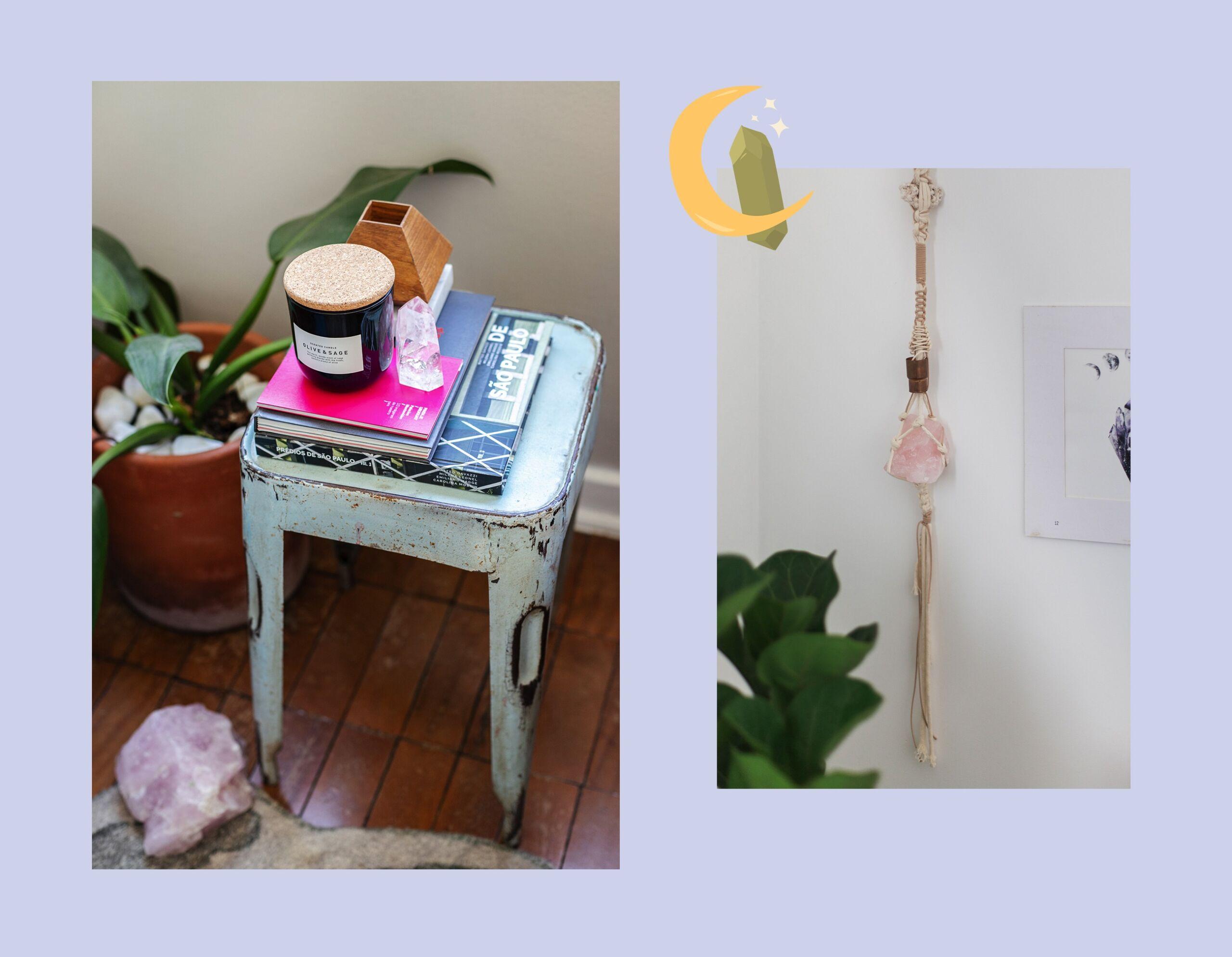 O poder dos cristais para energizar a casa