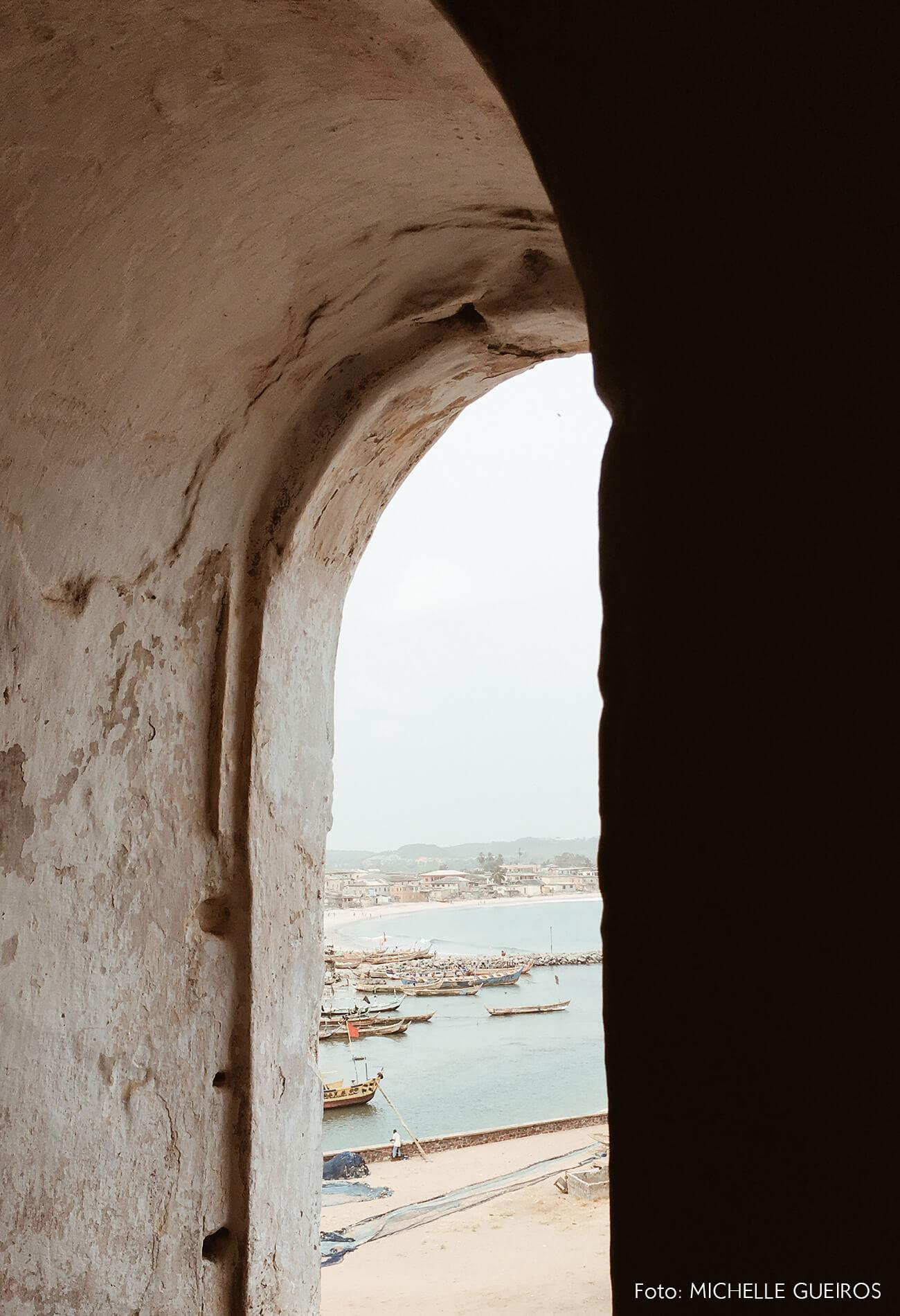 Gana viagem Castelo praia