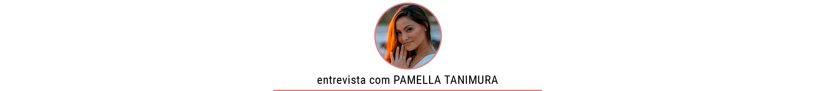 Aromaterapia com Pamella Tanimura