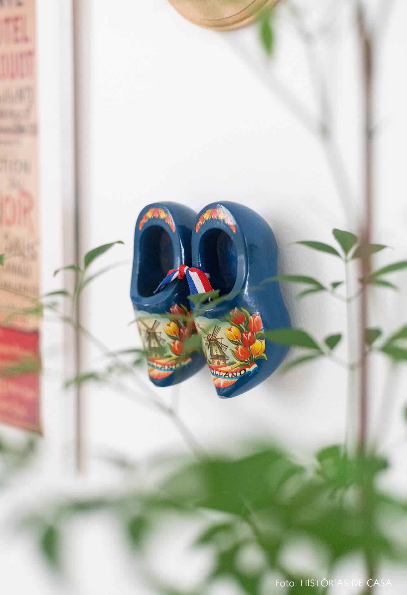 decoração Antes e depois de quarto detalhes sapato