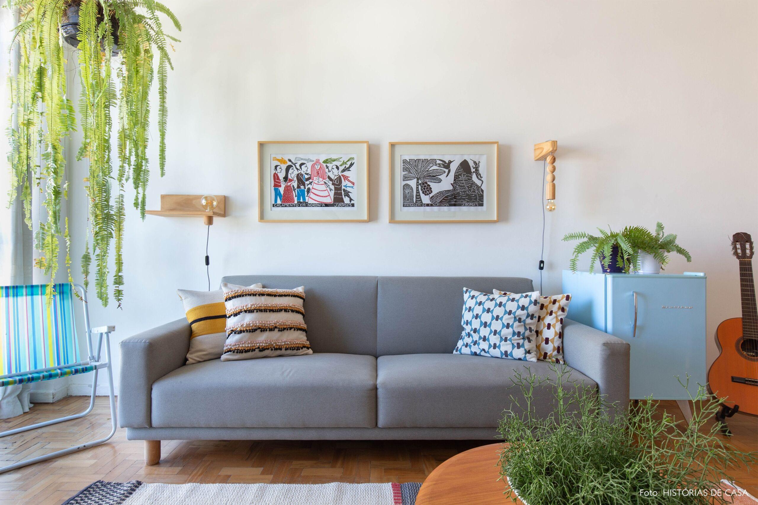 decoração quadros obrah sala cadeira praia luminaria madeira
