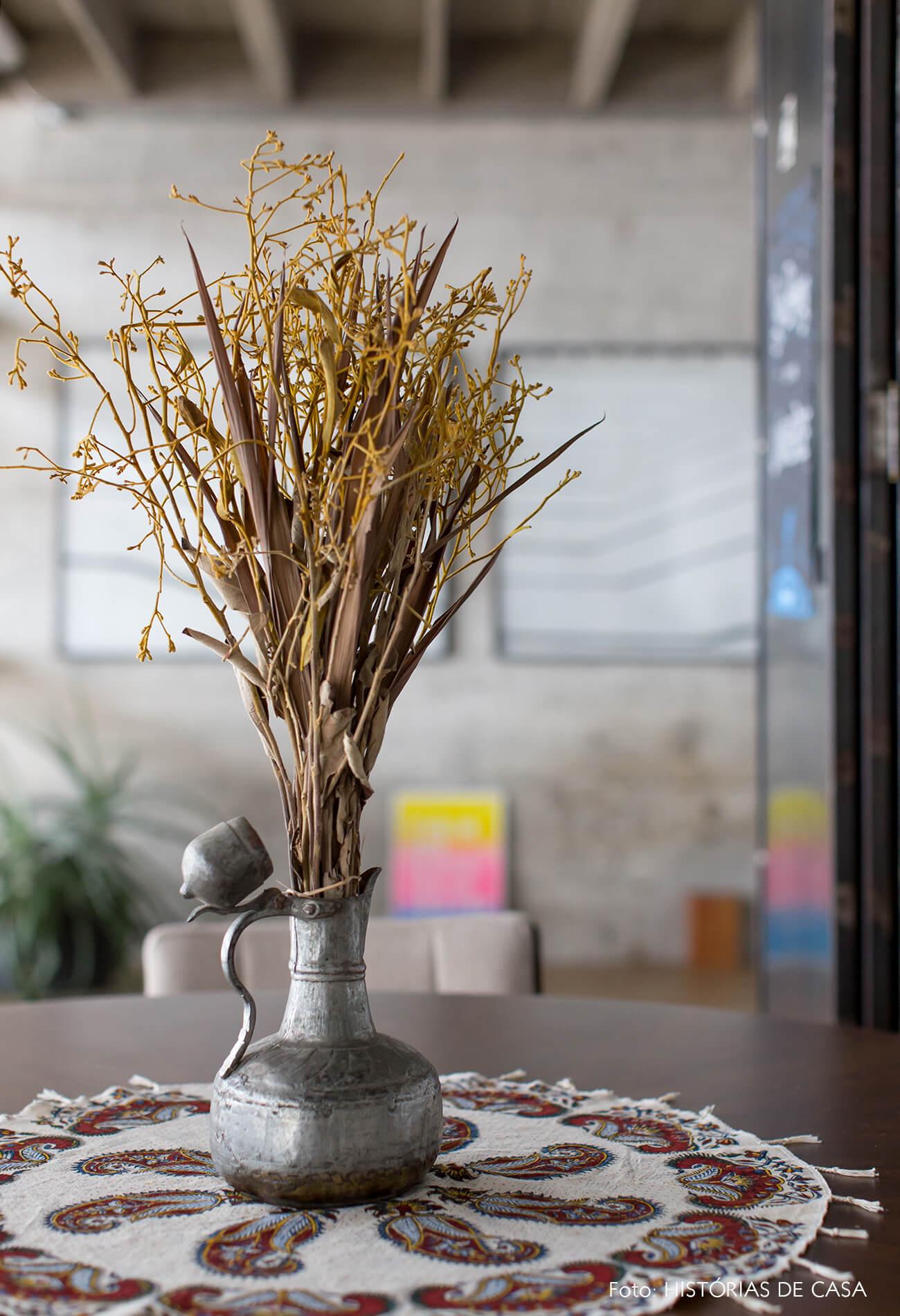 COPAN decoração detalhe flores secas