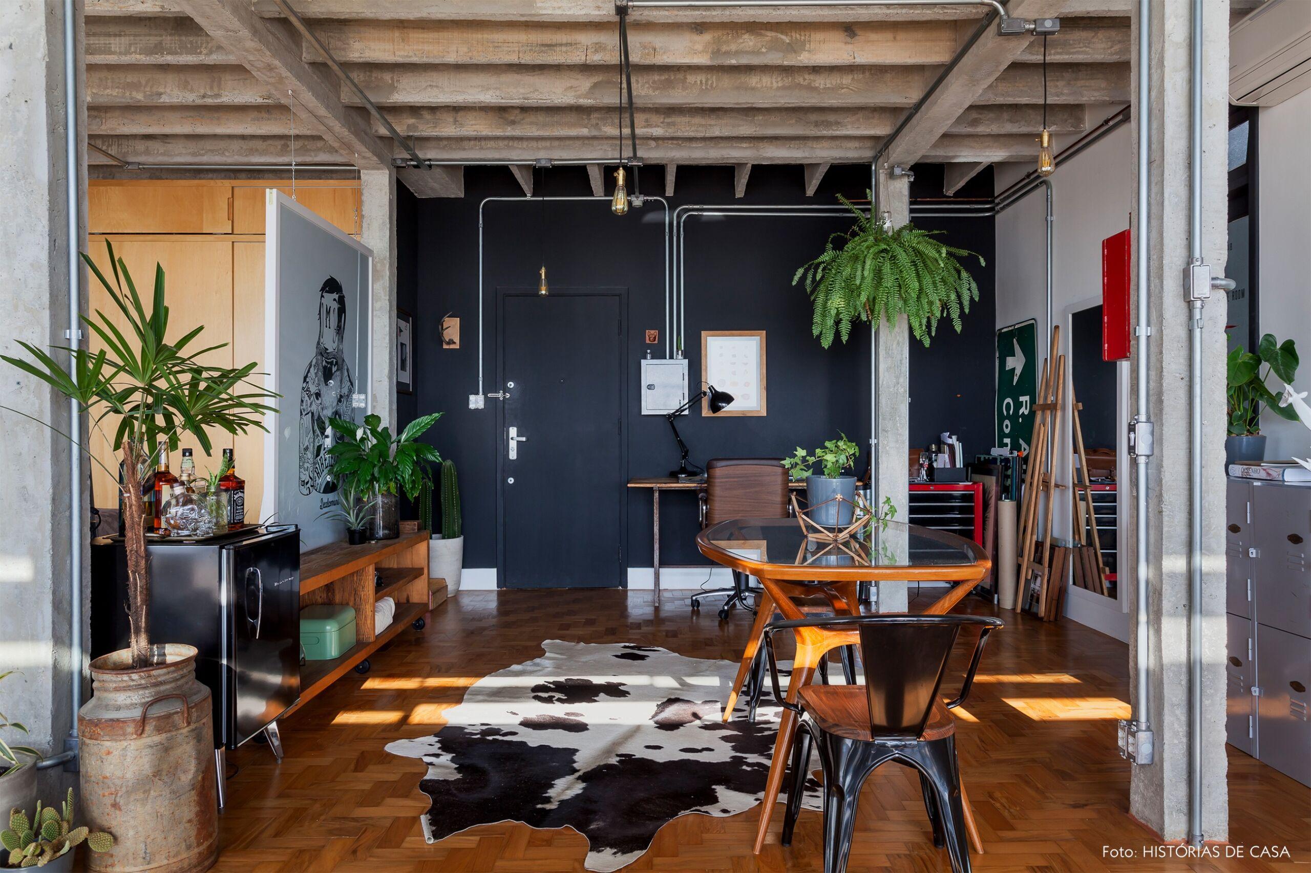 COPAN decoração Rodrigo ape integrado parede preta