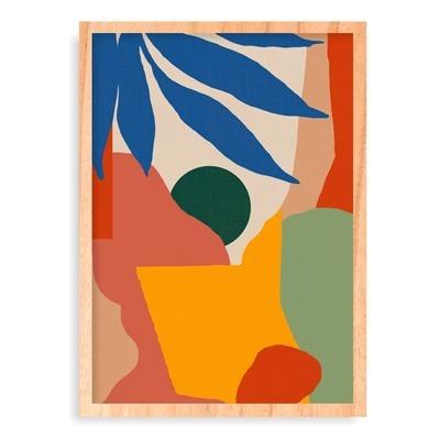 quadro composição abstrata