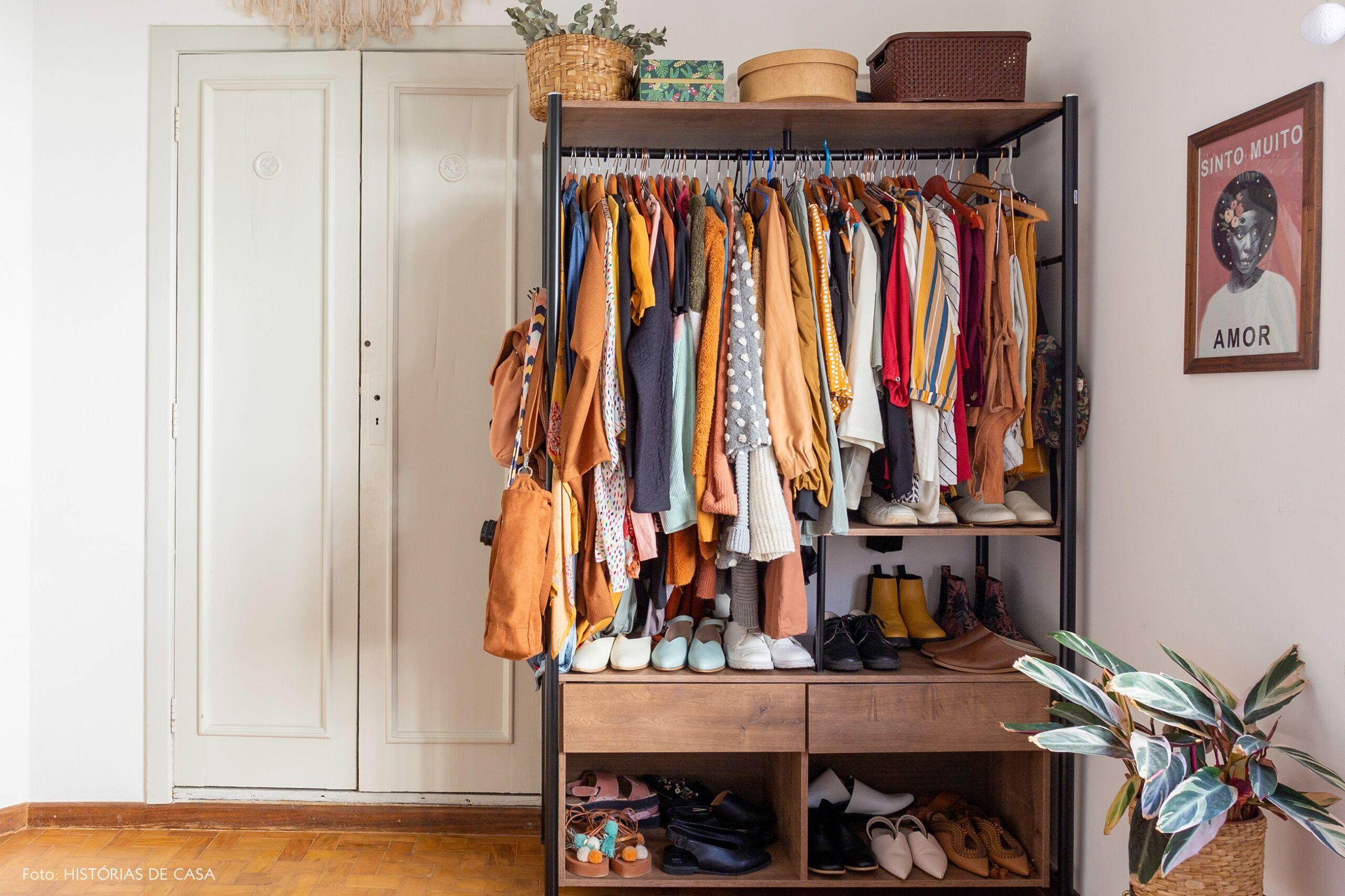 decoração guarda roupas quarto