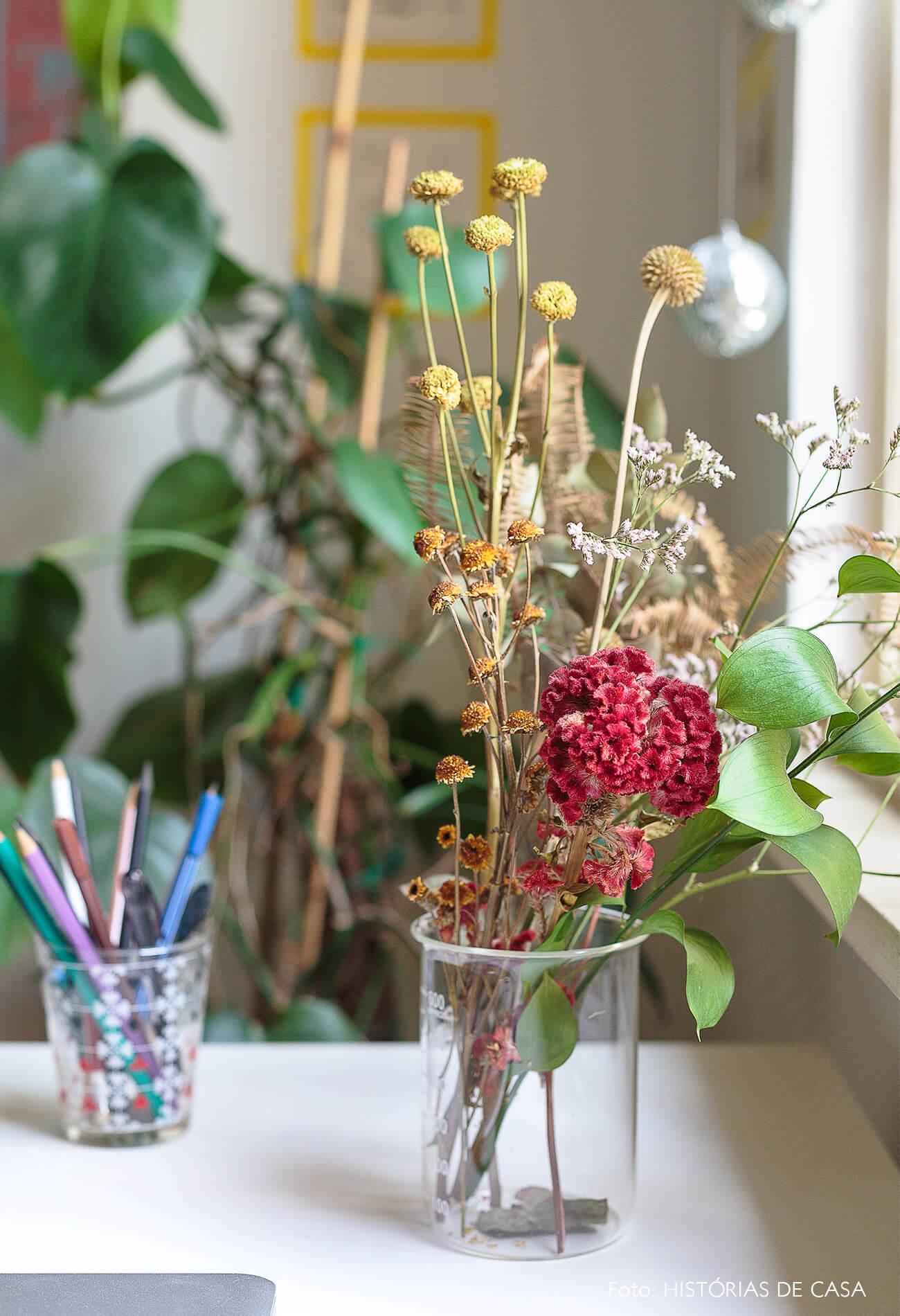 decoração detalhe arranjo flor