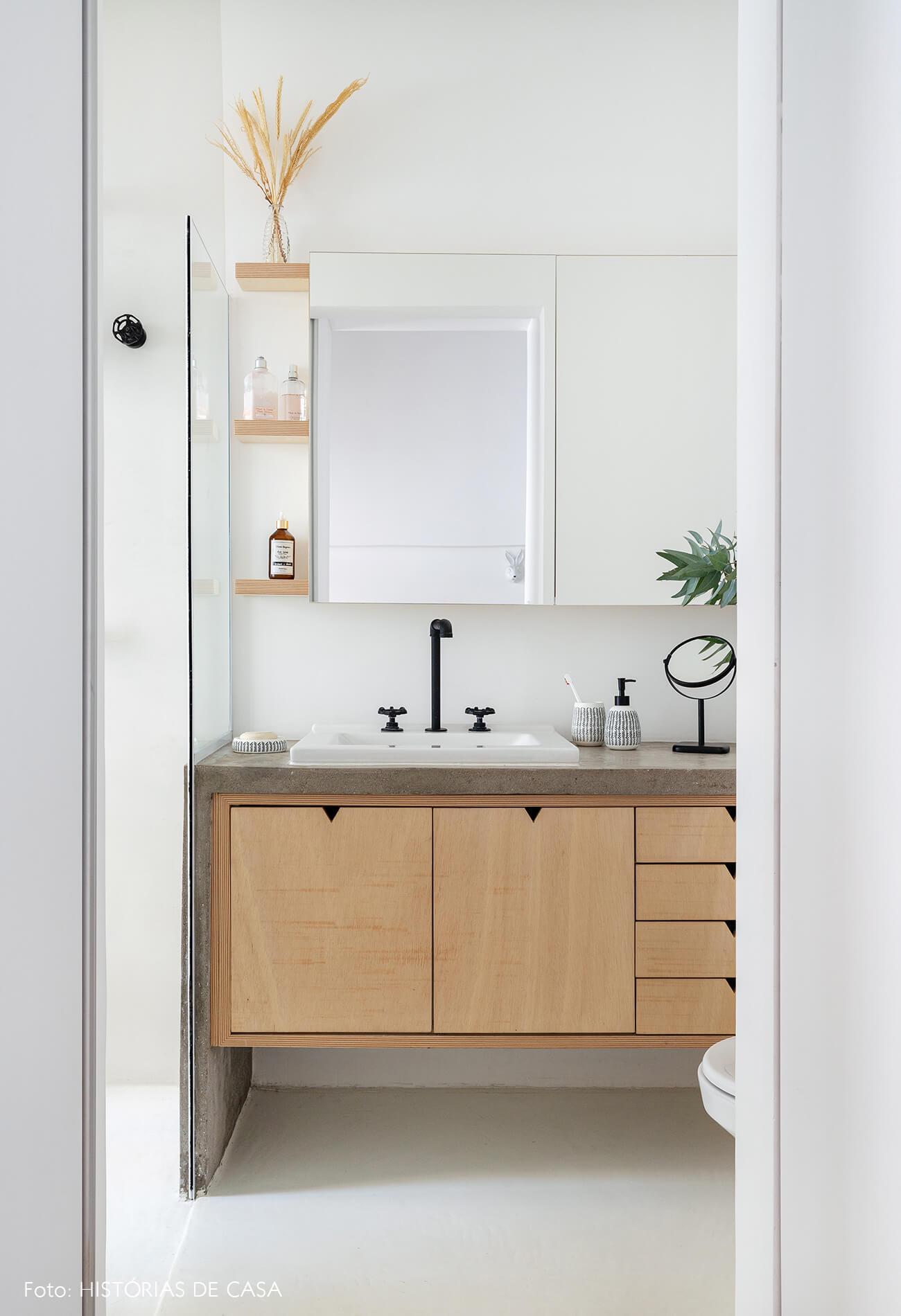decoração banheiro armarios marcenaria