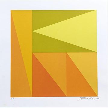 Yellow II // Antonio Peticov