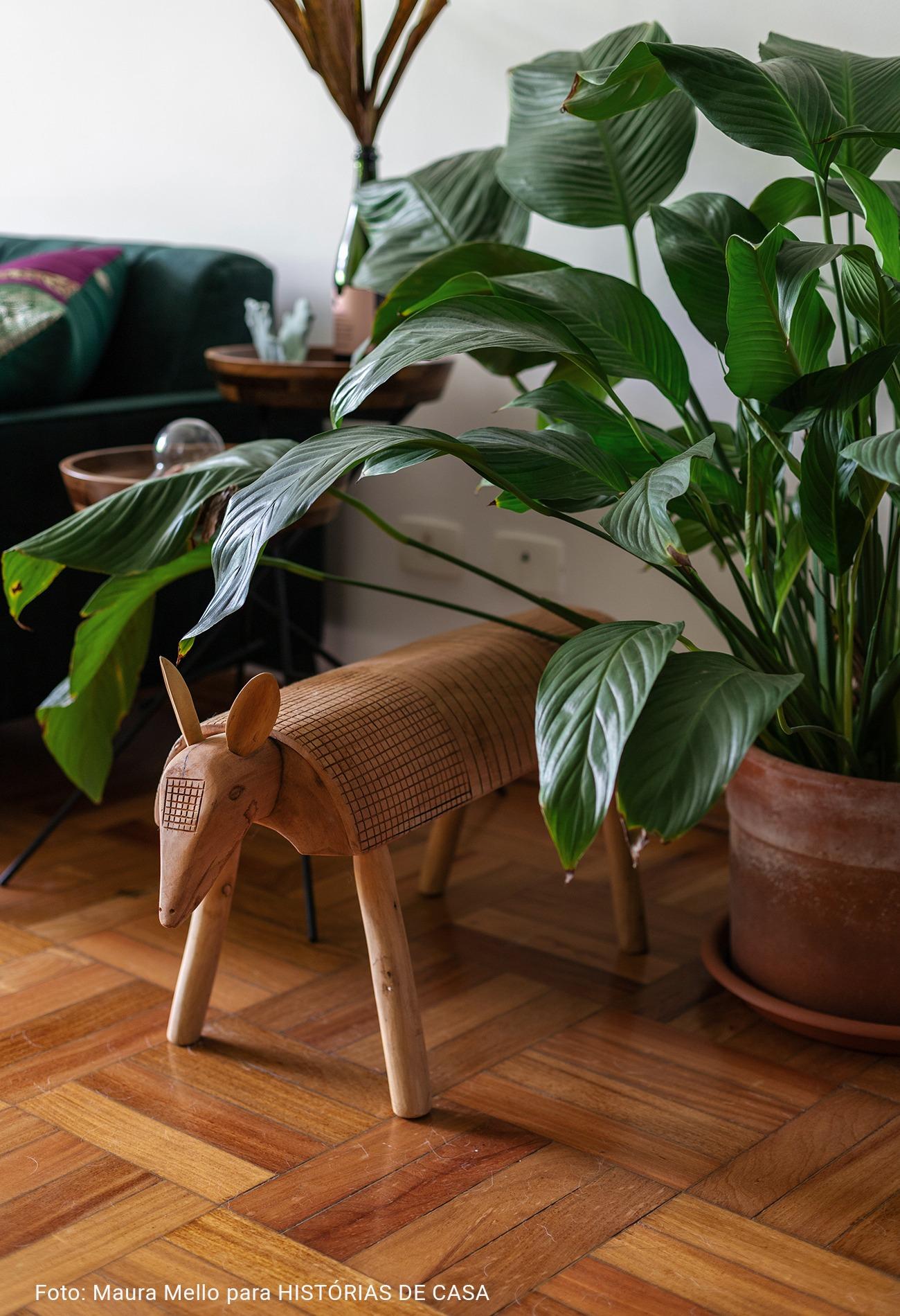 artesanato brasileiro e planta