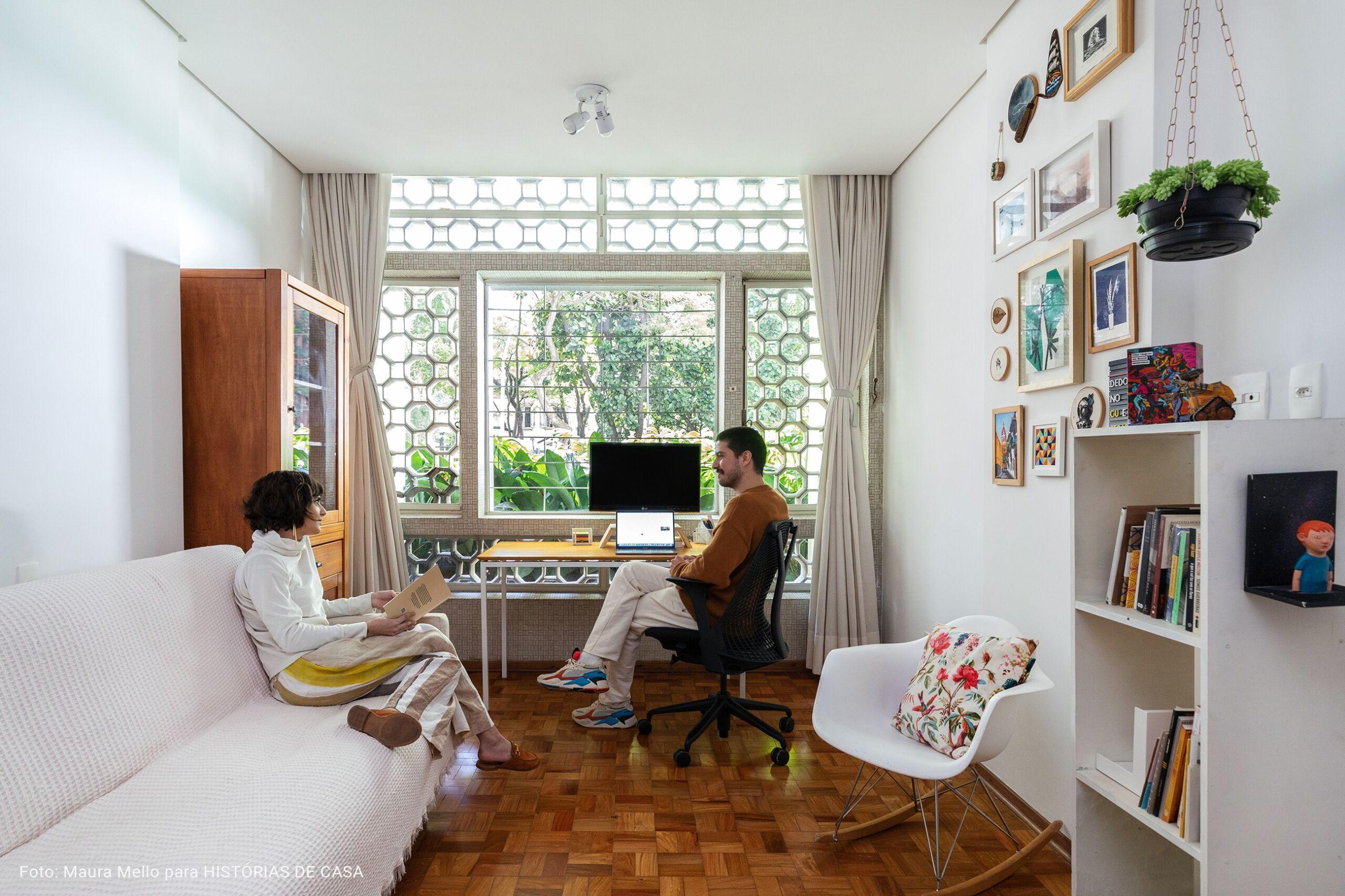escritório em ape antigo