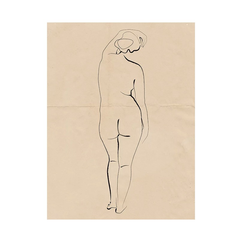 PENCIL ON PAPER NUDE 03