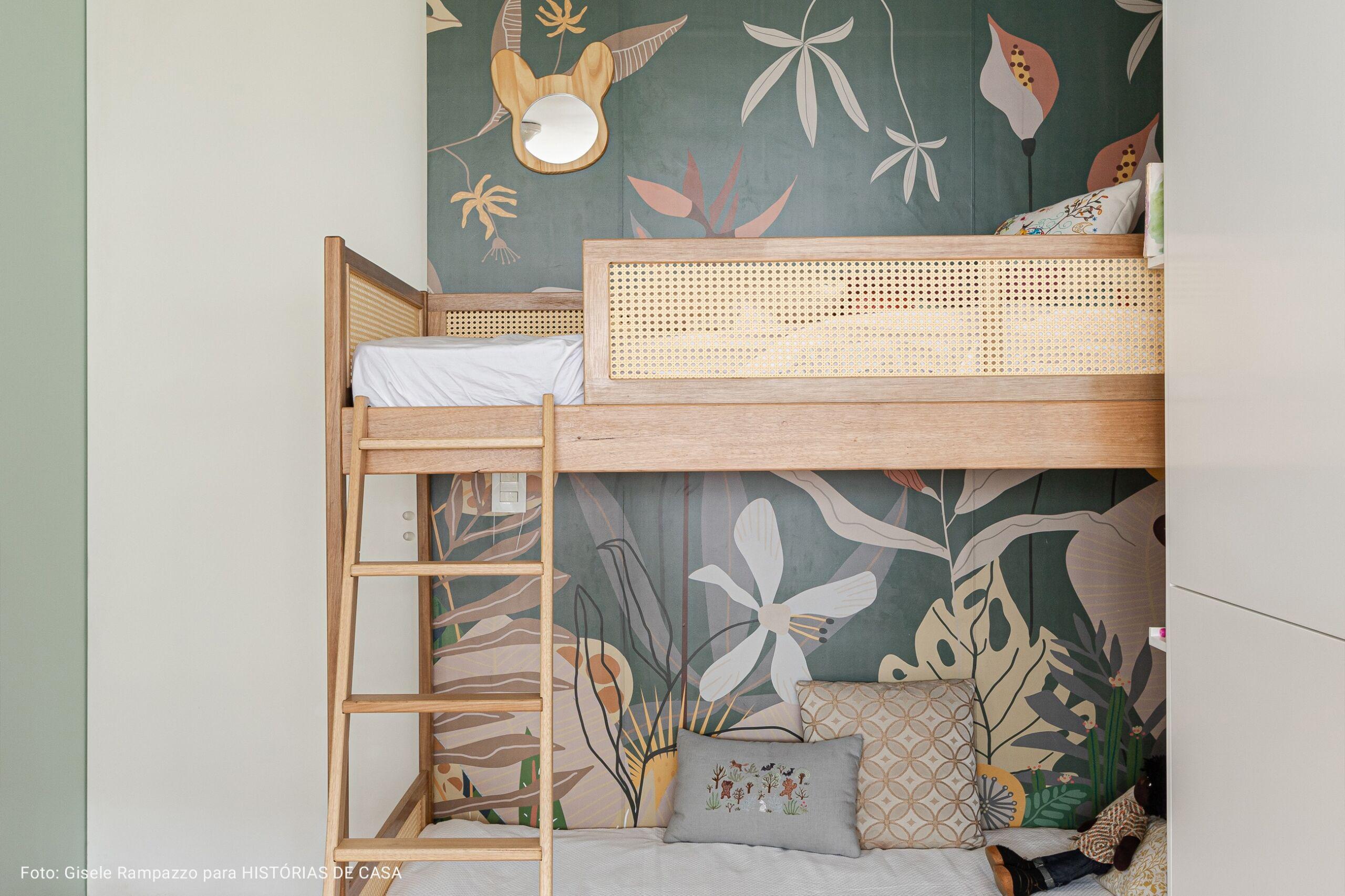 quarto de criança com beliche