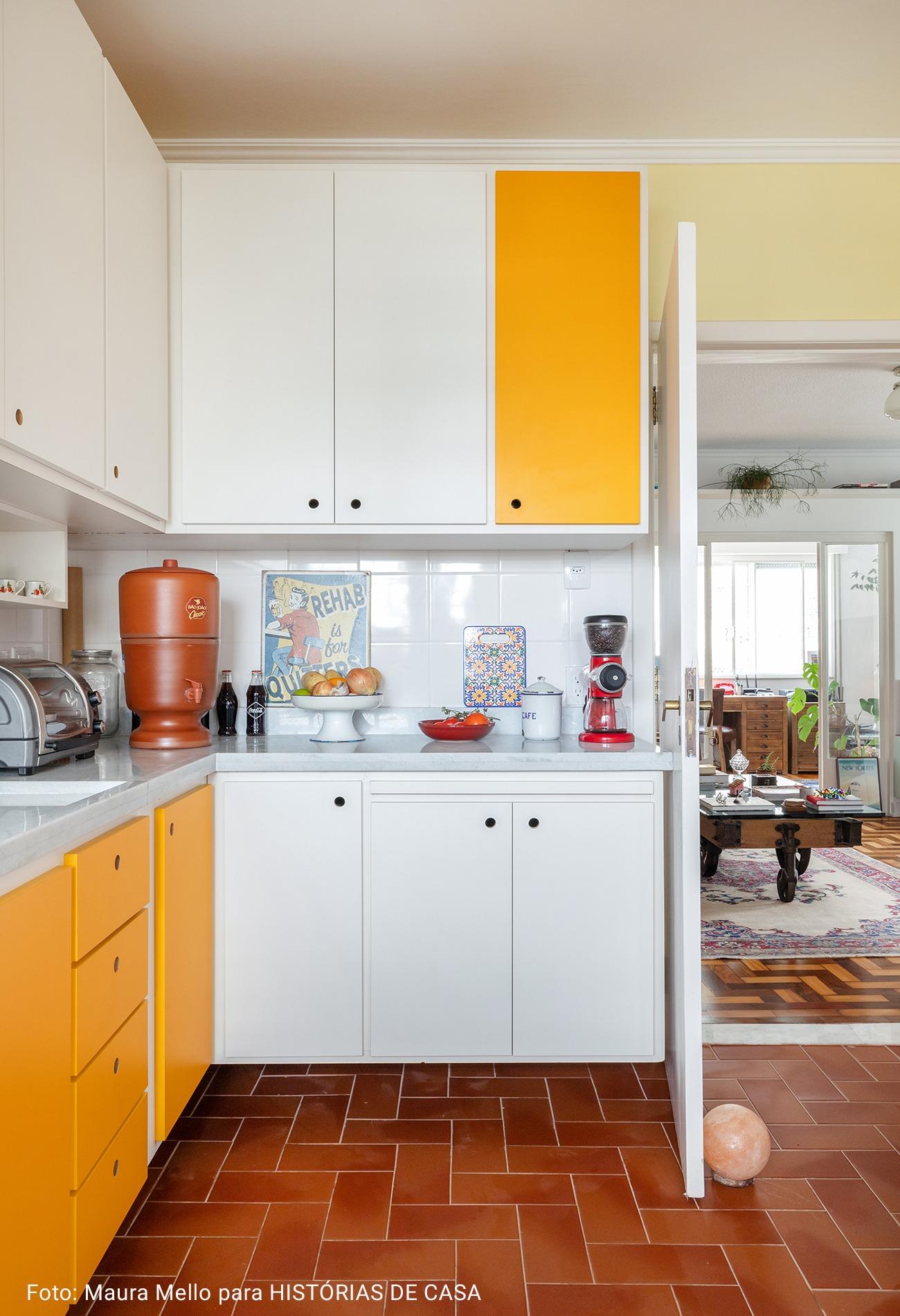 cozinha em apartamento antigo