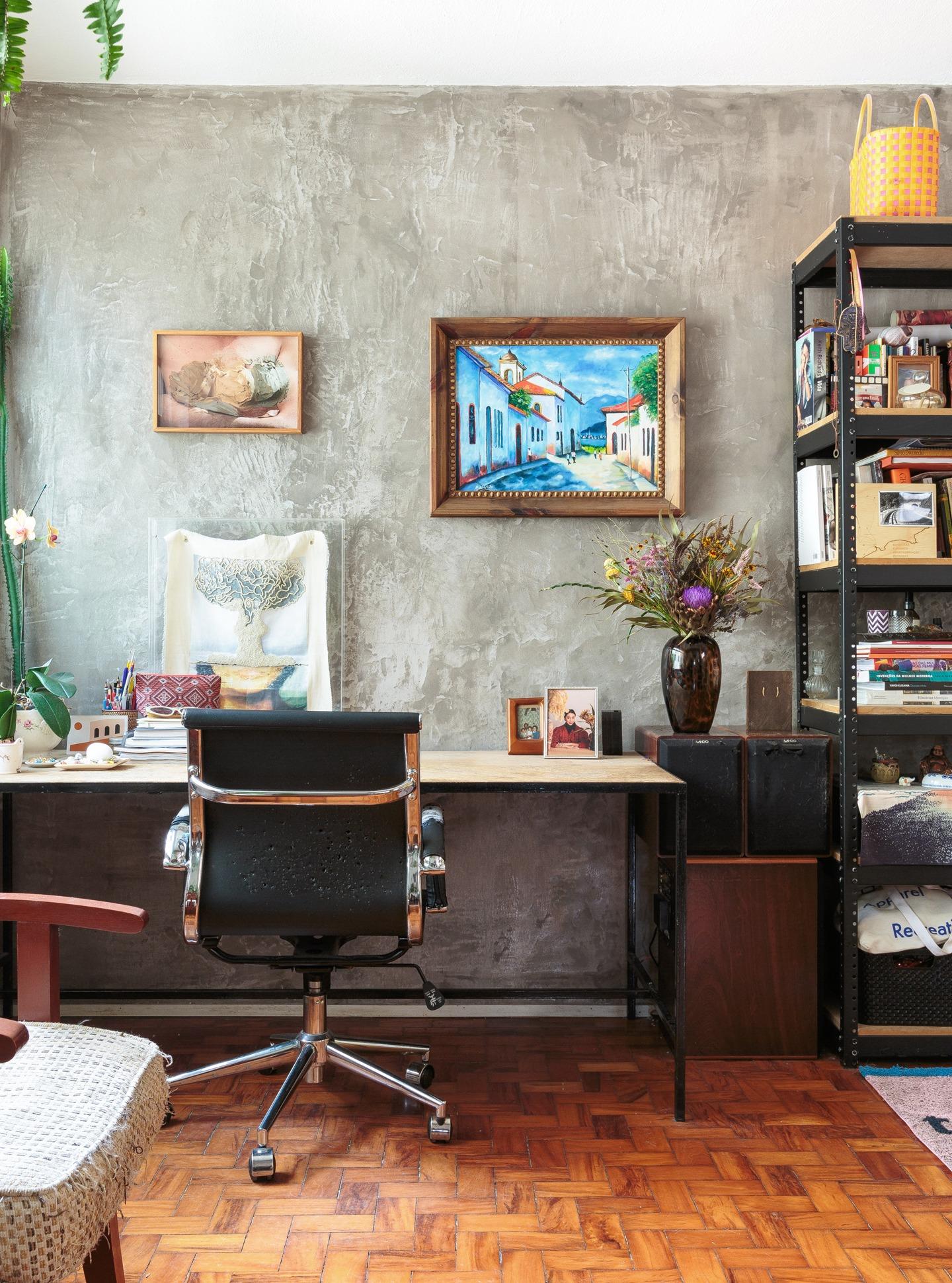 home office com pegada industrial