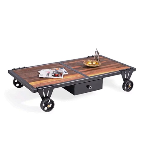 mesa de centro cart table