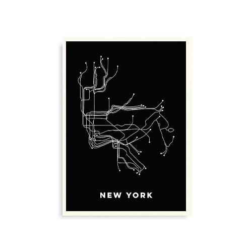 Mapa metrô New York