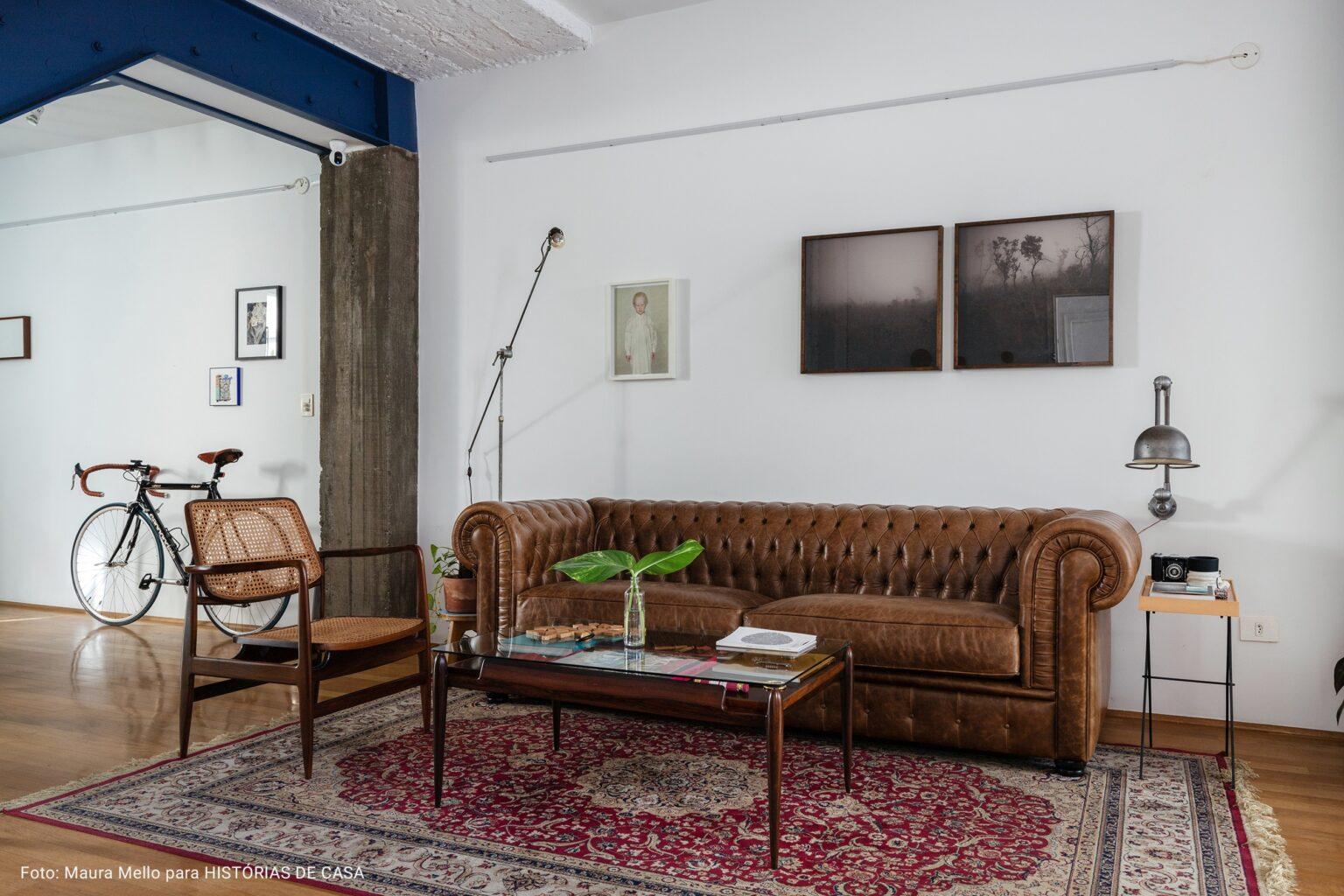 sala com estilo industrial