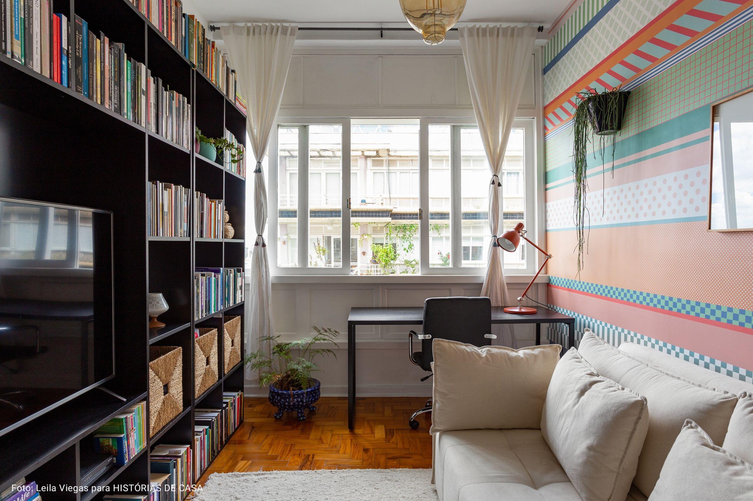 apartamento no centro com chão de taco