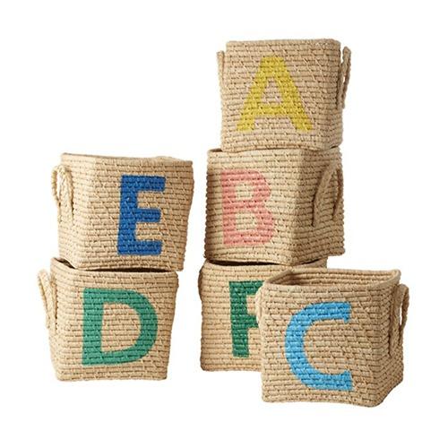 Cesta organizadora Alfabeto