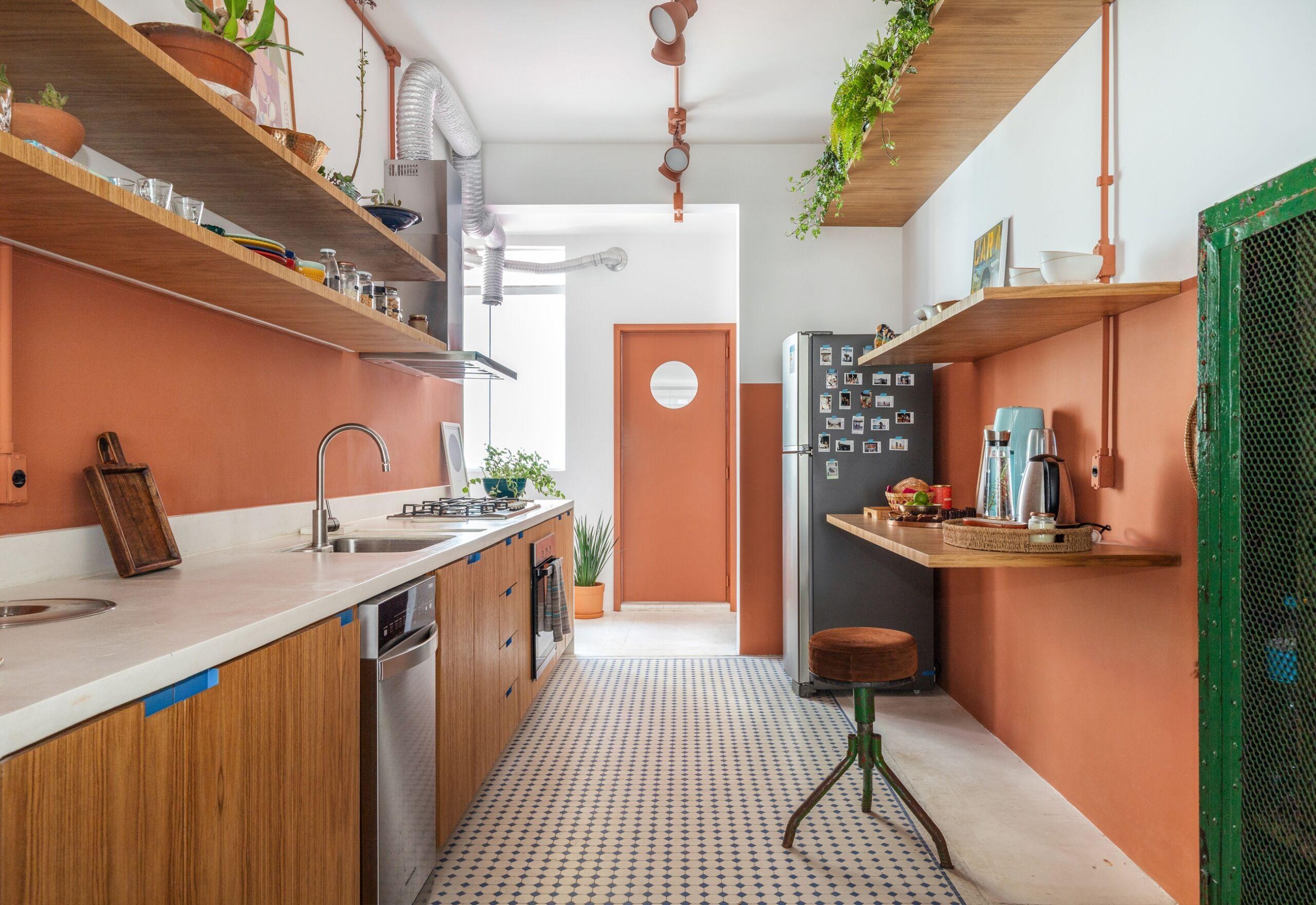 cozinha pegada industrial