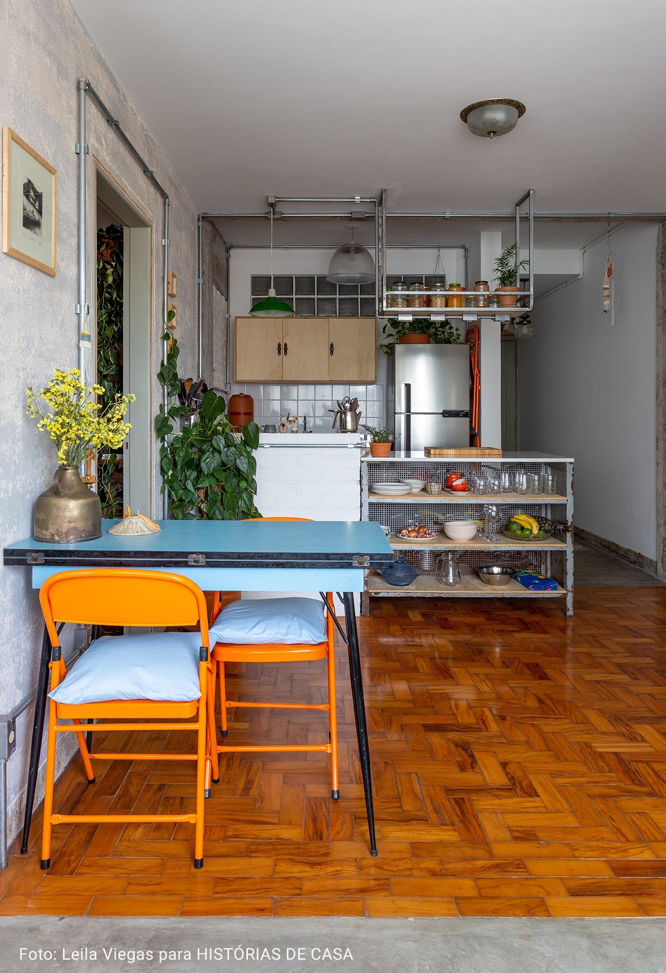 cozinha integrada industrial