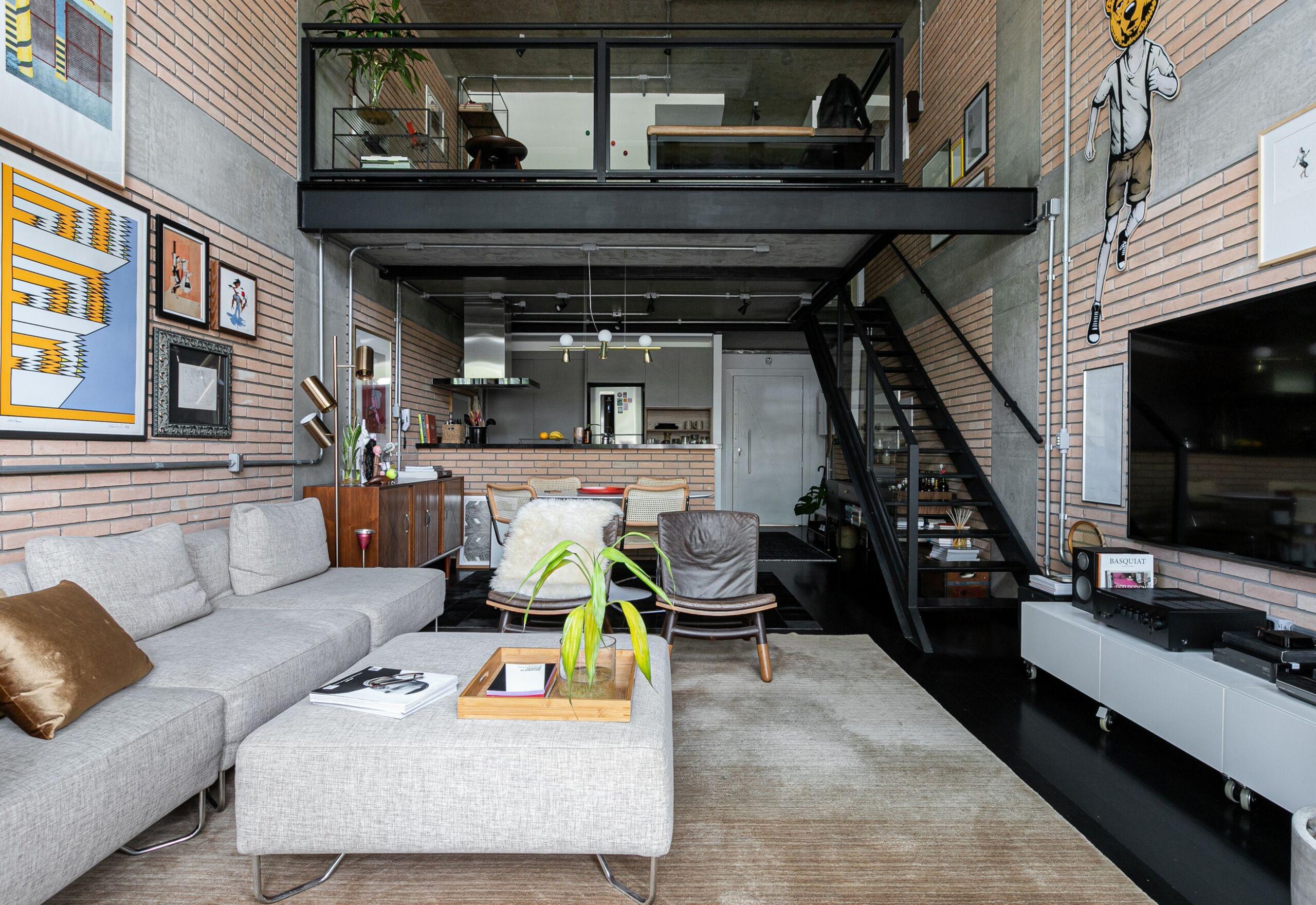 loft com mesanino industrial