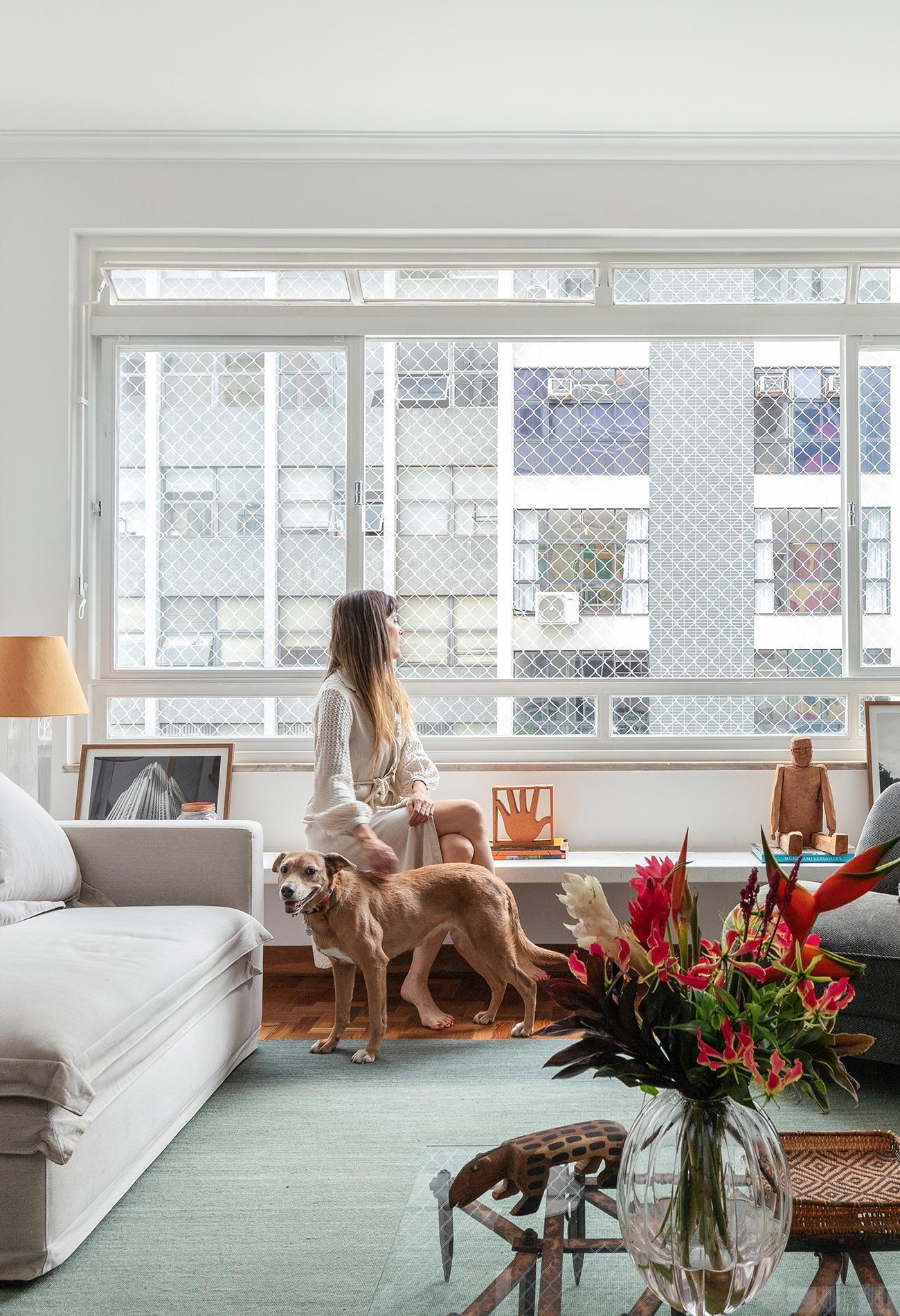 Apartamento com móveis vintage