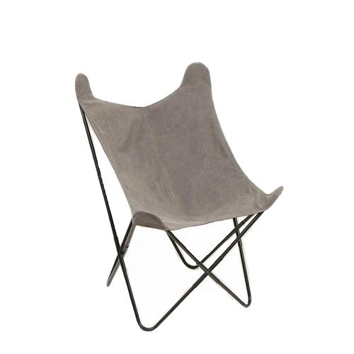 Cadeira butterfly cinza