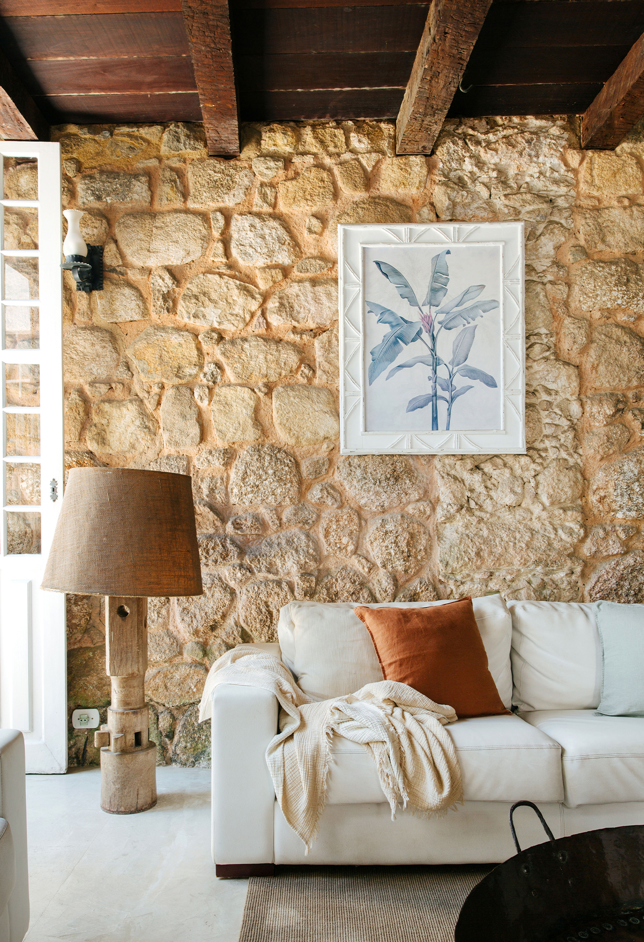 Casa com arquitetura colonial em Paraty