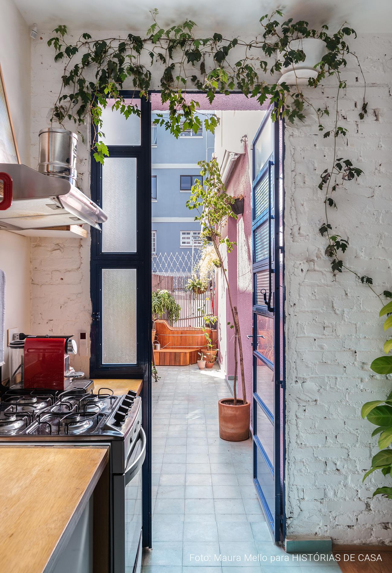 apartamento térreo com quintal