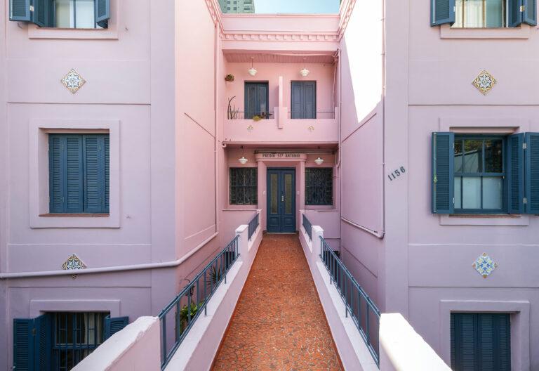 Antes e depois prédio Santo Antônio