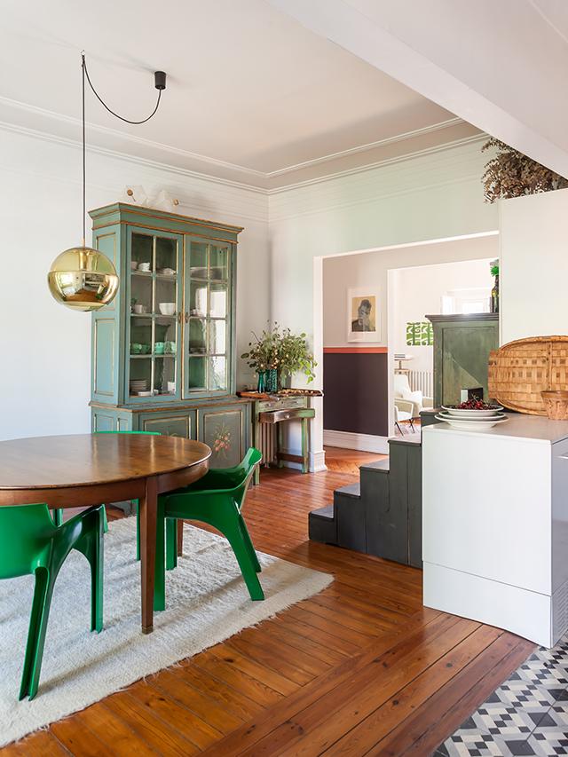 Apartamento dos anos 40 em Lisboa, Portugal